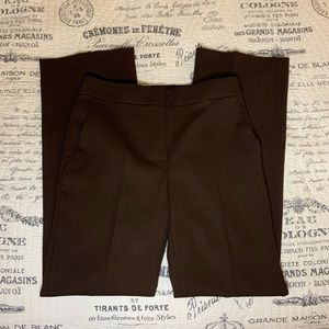 Max Mara Career Pants in Brown Size 4